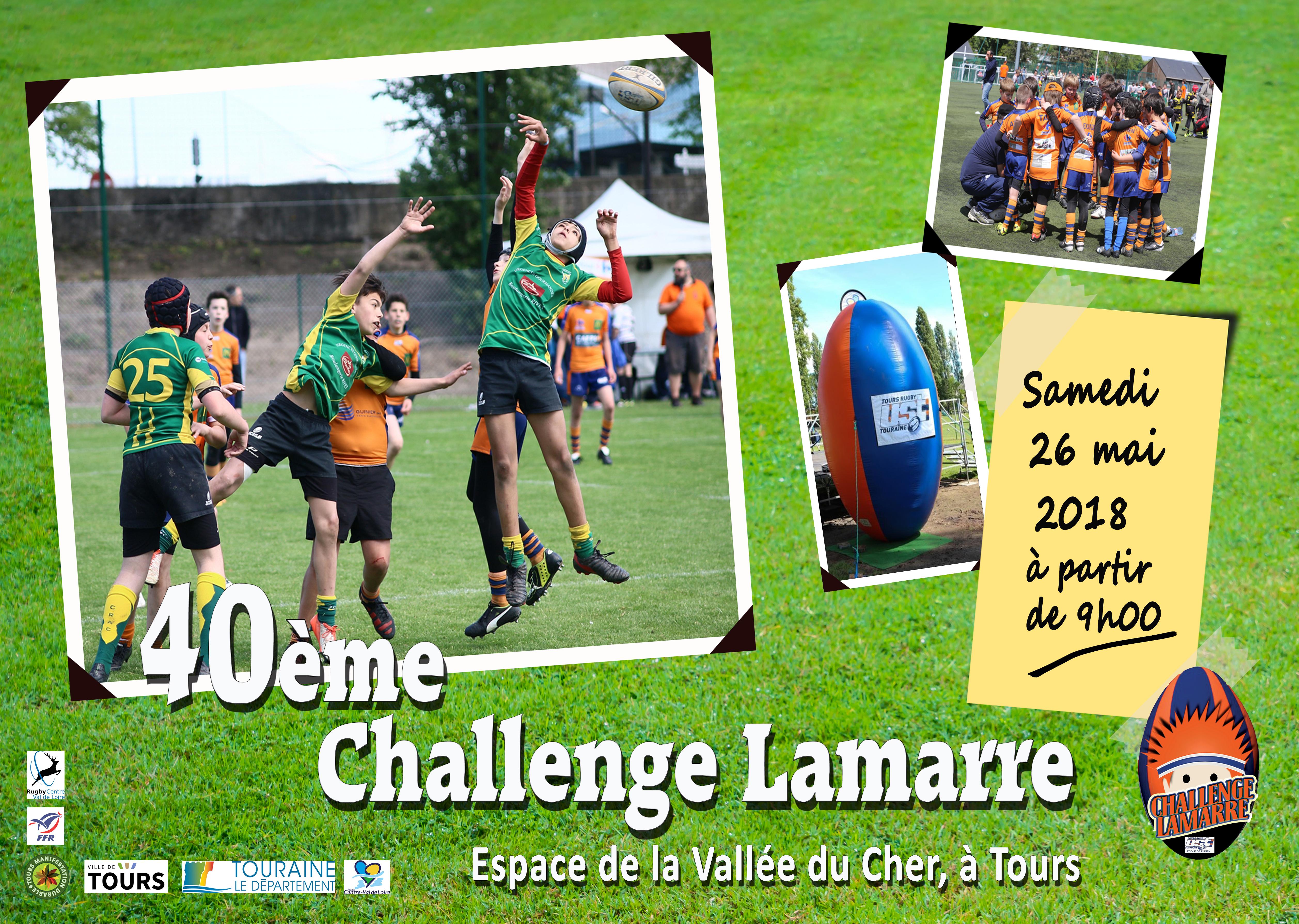 Challenge Lamarre 2018 40ème édition – 26 mai 2018