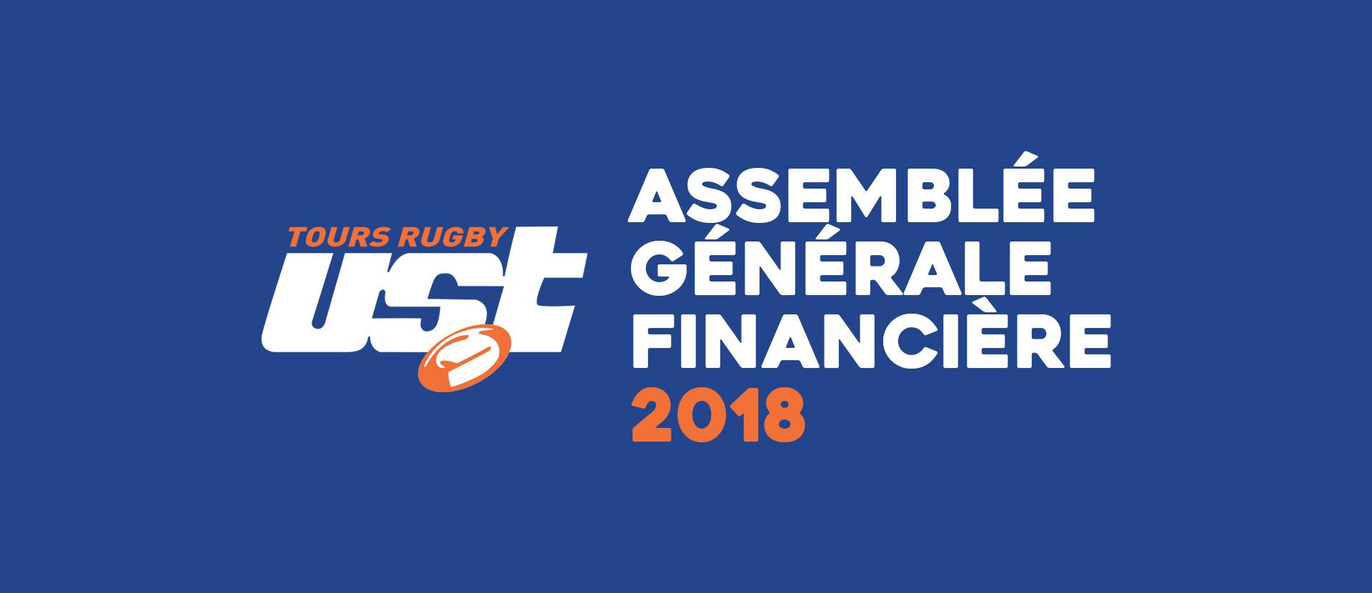 SAVE THE DATE : Assemblée Générale Financière le 8 octobre 2018