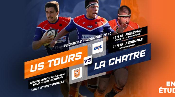 Match US Tours vs La Châtre