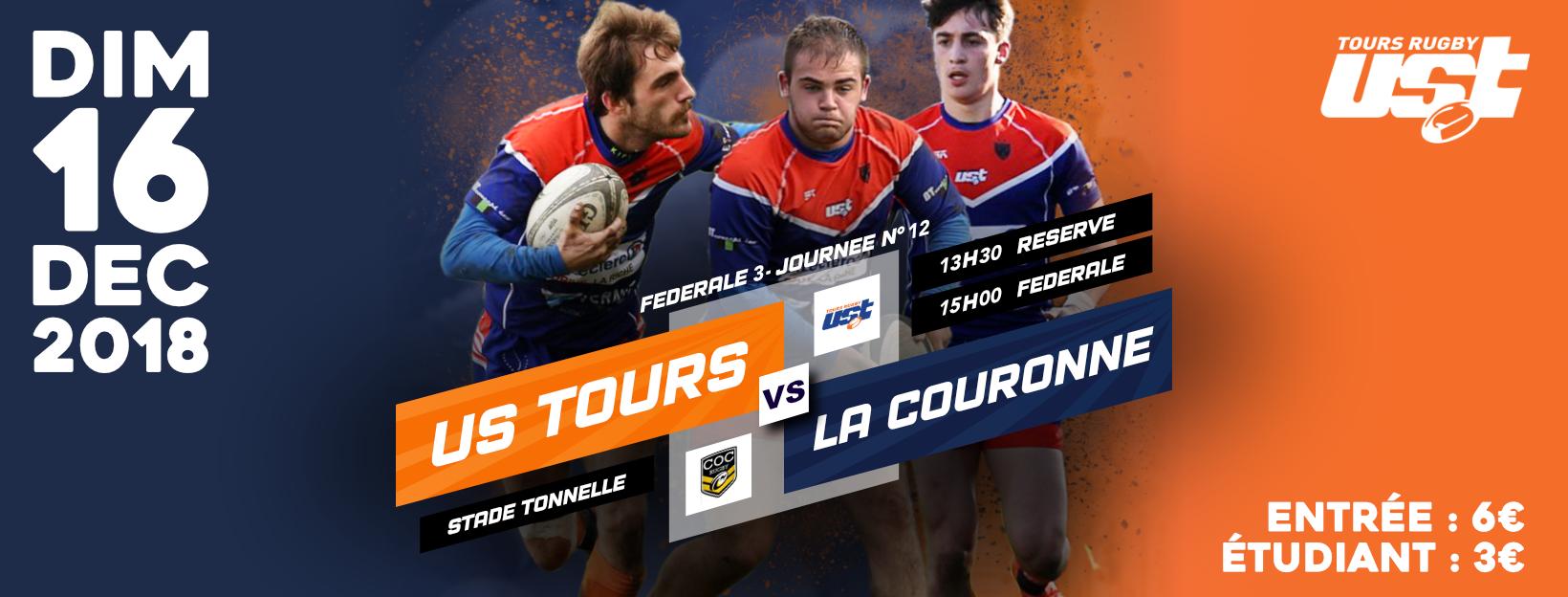 Match US Tours – La Couronne