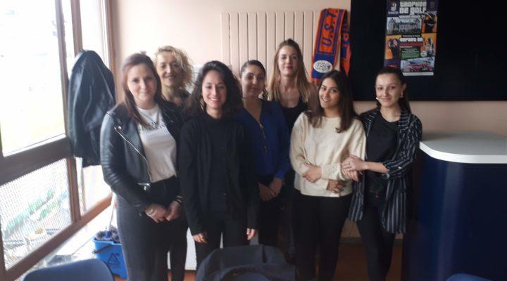 Sept dames au service de l'UST