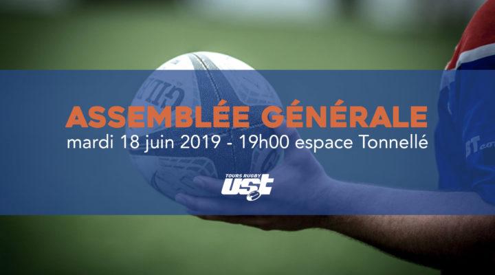 ASSEMBLÉE GÉNÉRALE 18 JUIN 2019 (19h00 – Espace Tonnellé)
