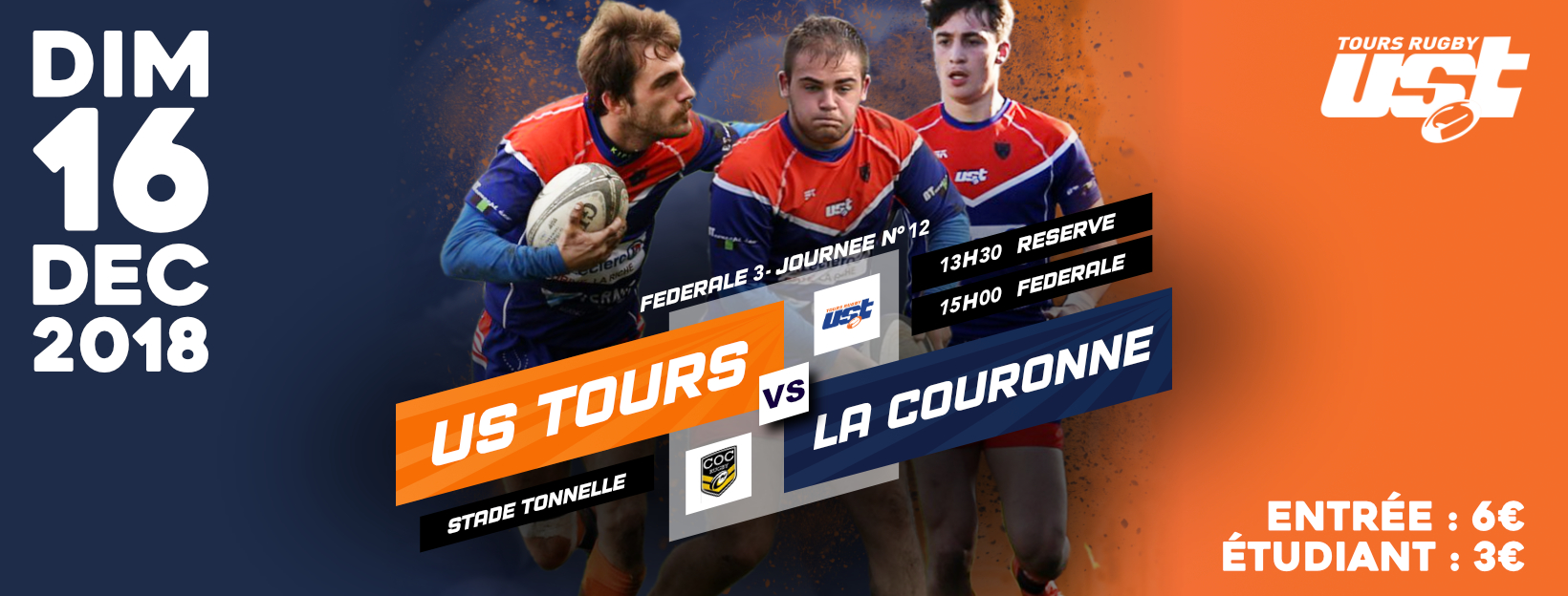 Match US Tours – La Couronne