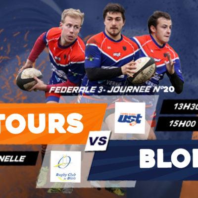 Match US Tours vsBlois