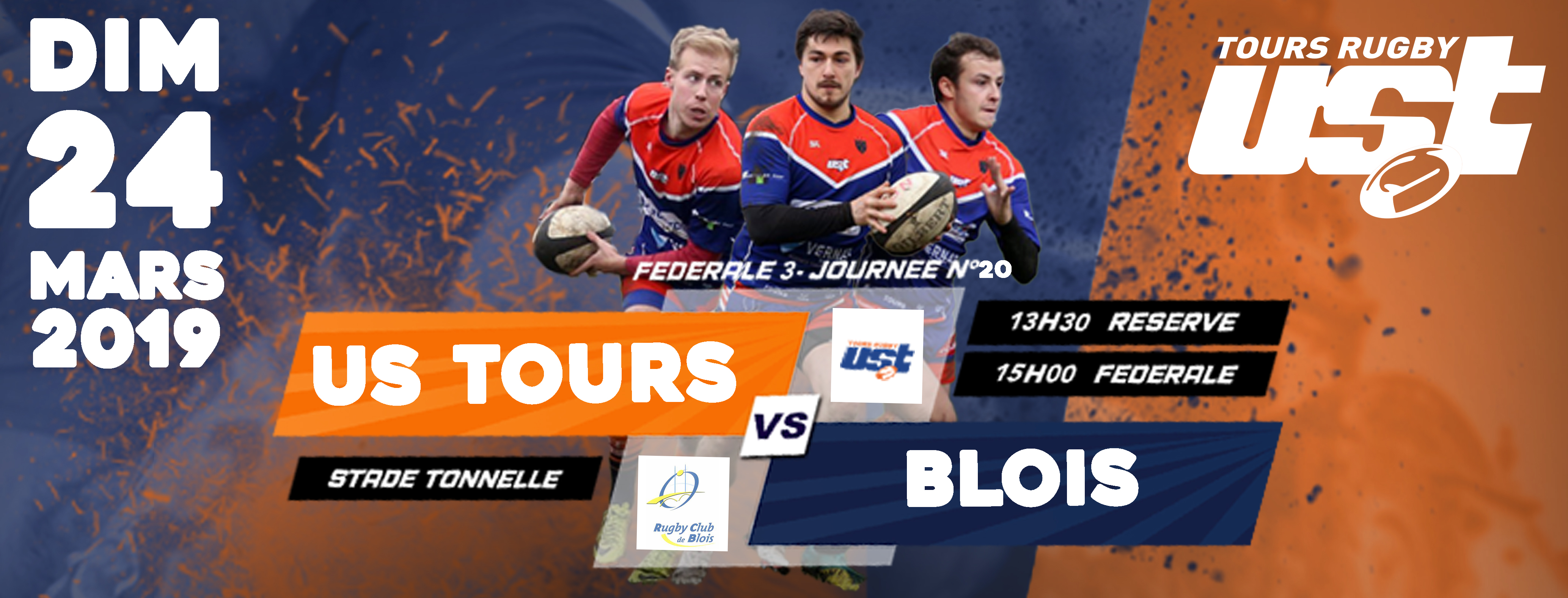Match US Tours vs Blois