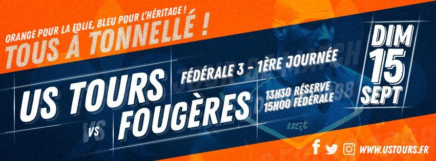 Match US Tours vs Fougères