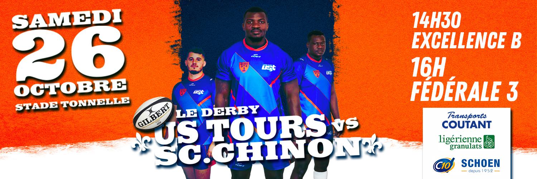 Derby US Tours / SC Chinon