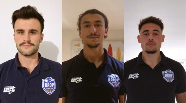 Cette saison Drop Quartier, c'est Thibault, Samy et Edouard!