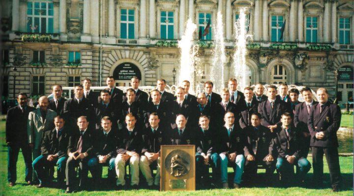 Joyeux anniversaire aux champions de 2001